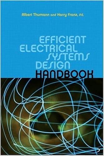 Efficient Electrical Systems Design Handbook Thumann Albert Franz Harry 9781439803004 Amazon Com Books