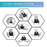 warmiplanet 2-Pack 60W LED Garage Lights, 8000