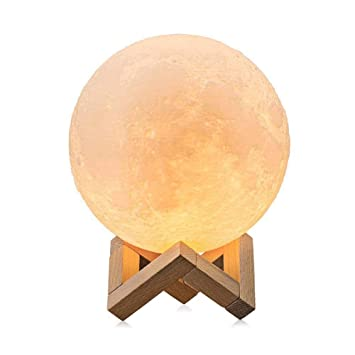 Lampe De Lune 3D, Lampe De Table Magic LED Moonlight