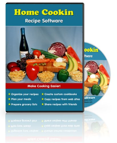 Amazon home cookin easy to use software with a recipe database home cookin easy to use software with a recipe database grocery manager and forumfinder Image collections