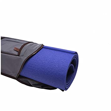 Completo Zip Ejercicio Yoga Mat Sling Bag Bolso de la Estera ...