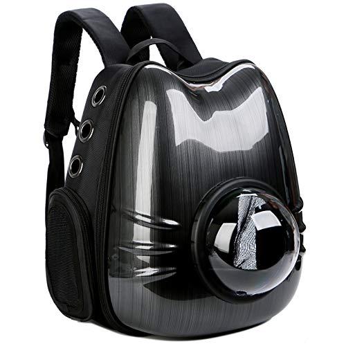 Black 322640cm Black 322640cm CHEN. Pet bag cat bag space pet cabin bag out carrying bag shoulder bag cat dog space box cat cage bag pet supplies,Black,32  26  40cm