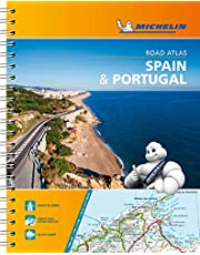 Michelin Spain & Portugal Road Atlas