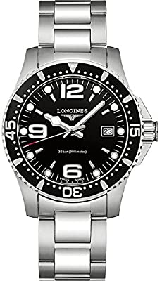 Longines HydroConquest Quartz Men's Watch L3.740.4.56.6