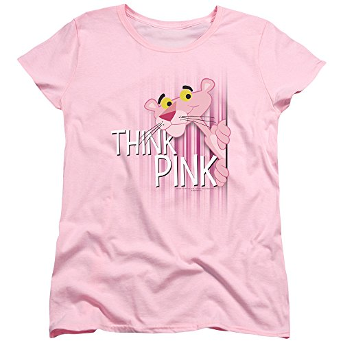 Sons of Gotham Pink Panther Think Pink Women's T-Shirt L ()
