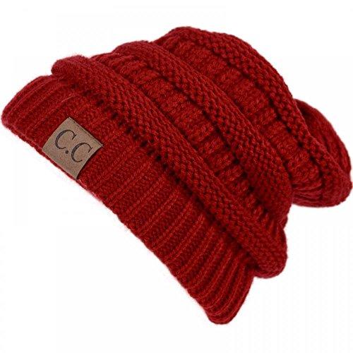 RD27_(US Seller)New Fashion Women Men Warm Hat Winter Cap