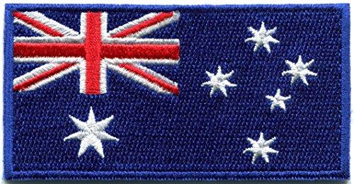Flag of Australia Australian Aussie Oz down under embroidered applique iron-on patch - Australia Delivery