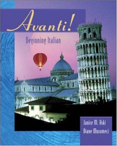 Avanti: Beginning Italian
