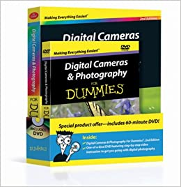 Digital Cameras Photography For Dummies Book DVD Bundle Mark Justice Hinton 9780470917640 Amazon Books