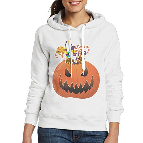 ACFUN Women's Halloween Pumpkin Sweater Size M