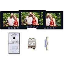 Multitenant Video Entry System 2 Wire Installation Three Button
