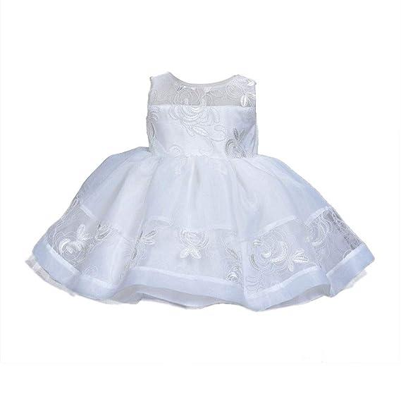 78895c7e2f709 Robe de baptême bébé fille LA TECH Robe de Baptême Cérémonie Mariage soirée Robe  bébé fille