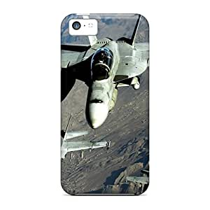 Iphone Case - Tpu Case Protective For Iphone 5c- Navy F A 18 Hornet