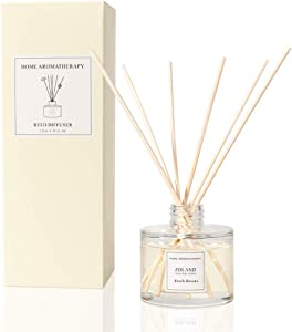 TIYOLE Reed Diffuser Sticks Sandalwood Diffuser Room Diffusers Stress Relief Aromatic (Fresh Breeze)