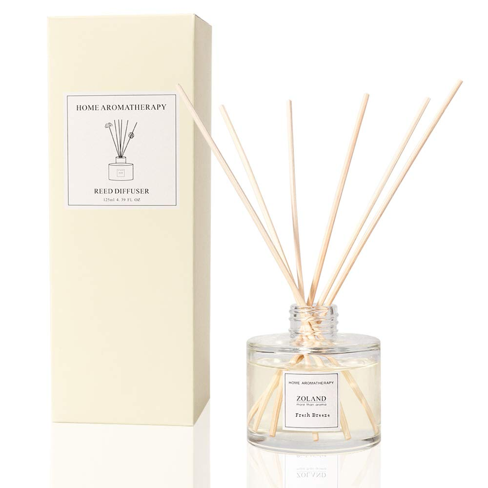 TIYOLE Reed Diffuser Sticks Sandalwood Diffuser Room Diffusers Stress Relief Aromatic (Fresh Breeze) by TIYOLE