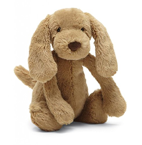 - Jellycat Bashful Toffee Puppy Stuffed Animal, Small, 7 inches