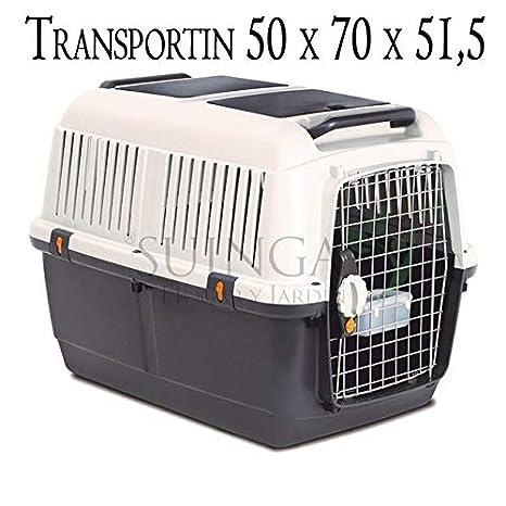 Suinga TRANSPORTIN para Perros PEQUEÑOS y Gatos. Medidas (Frente, Fondo, Alto) 50 x 70 x 51,5 cm: Amazon.es: Productos para mascotas