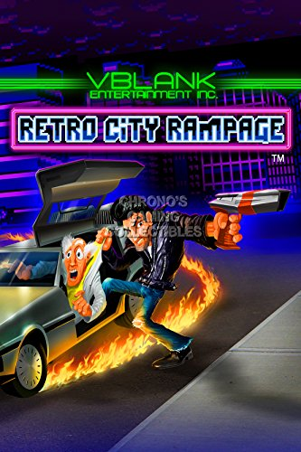 CGC Huge Poster - Retro City Rampage PS3 PS4 Vita Nintendo 3DS XBOX 360- EXT310 (24