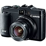 Canon PowerShot G16 12.1 MP CMOS Digital Camera with 5x Optical Zoom and 1080p Full-HD Video Wi-Fi Enabled(Certified Refurbished)