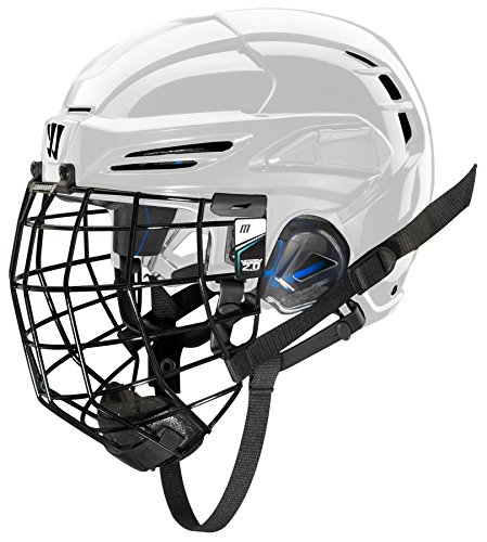 WARRIOR PX3HC5 Ice Hockey Players Helmet with Cage, White, Small -