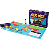 Geotoys - Geodice - Geography Family Game & Educational Game - Best Board Game to Learn Countries of the World