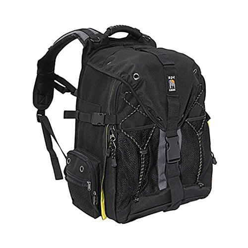 Ape Case, ACPRO2000, Large backpack, Laptop compartment, Padded, Rain cover included, Adjustable straps, Camera Backpack, Equipment bag, Black (ACPRO2000) by Ape Case (Image #2)