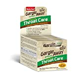 Gargle Away Advanced Throat Care, 20-PK | Natural cold throat remedy | Sore