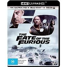The Fate of the Furious 4K UHD Blu-ray | NON-USA Format | Region B Import - Australia