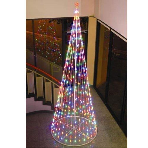 "Homebrite 120"" Prelit Artificial Christmas LED Outdoor Co..."