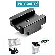 Neewer 20mm Picatinny Weaver Paintball Gun Rail Mount for GoPro HERO4 Session HERO 4 3+3 2 1 Sj4000 Sj5000 Sj6000 Sj7000 Xiaomi Yi Action Camera