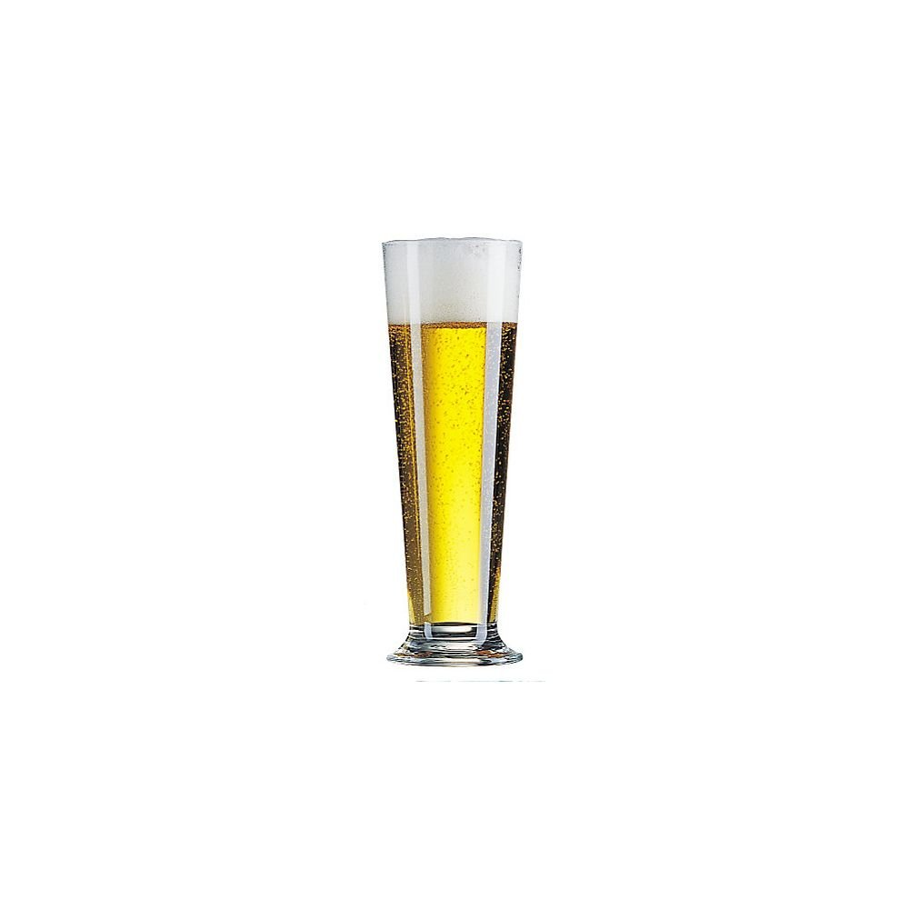 Arcoroc 25263 14 Oz. Linz Pilsner Glass - 24 / CS