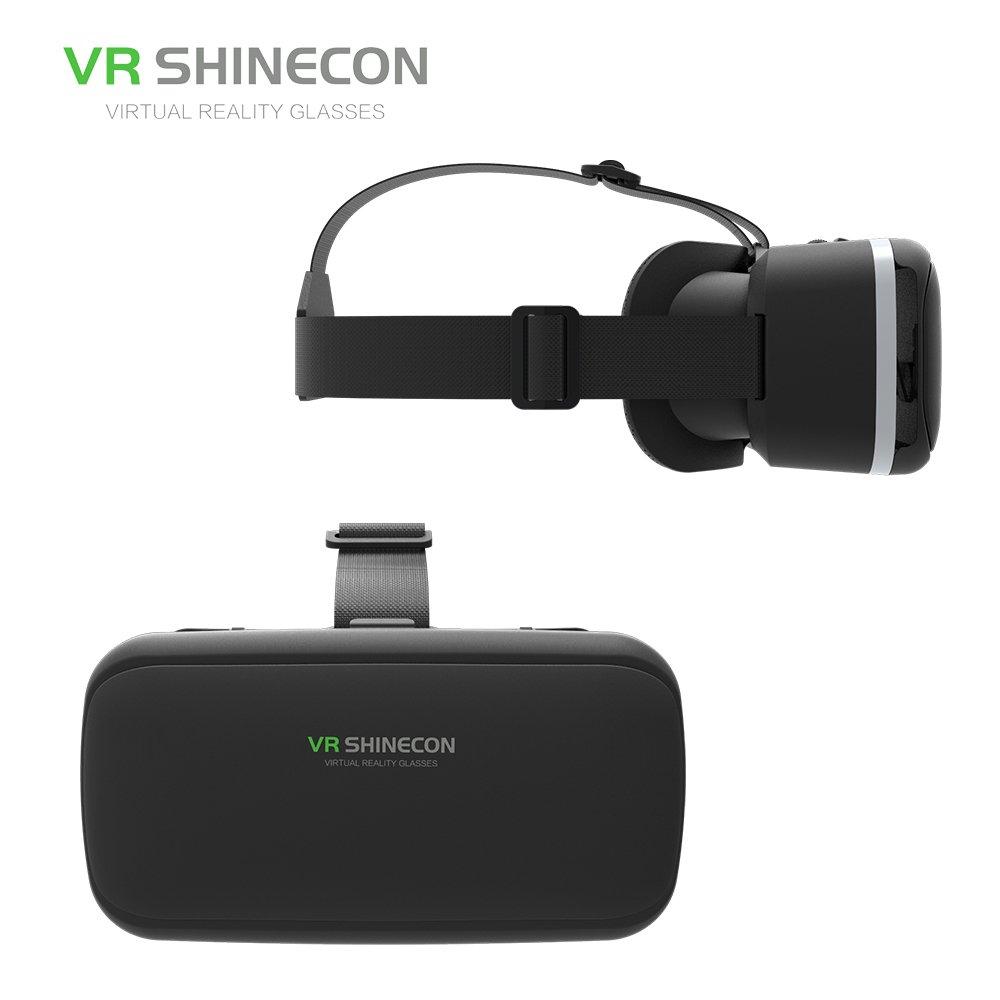 Explosion VR vasos vasos de 3d virtual Reality parte 3d Cascos VR de caja: Amazon.es: Electrónica