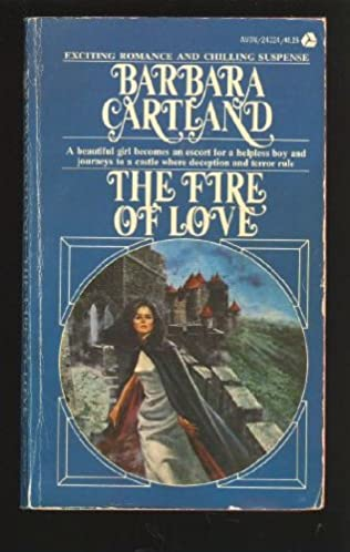 book cover of The Fire of Love