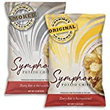 New Symphony All Natural SMOKED + ORIGINAL Flavored Gourmet Seasoned Potato Chips 1.5oz (16 - Pack)