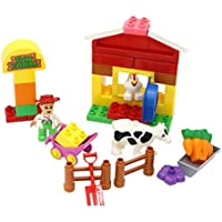 Little Treasures Fun Farm Set with Farm Animals Preschool...