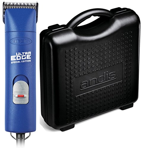 Andis ProClip AGC2 UltraEdge Universal Supper 2-Speed Professional Grade Pet, Dog & Animal Powerful Clipper with Size #10 Detachable Blade - Includes Hard Case for Added Protection. (Navy - Cap Navy Pet