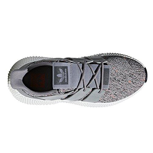 adidas Originals Prophere Black and Grey CQ3022, CQ3023. Primavera/Estate 2018. per Gli Amanti della Sneaker. Grey Three/Ftwr White/Solar Red