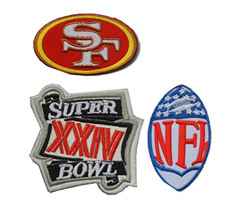 49ers patches sew on - 8