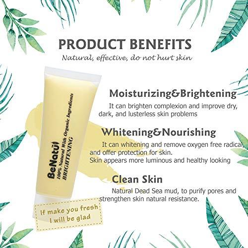 Benatu - 100% Natural Organic Sea + Silicone Face 75g