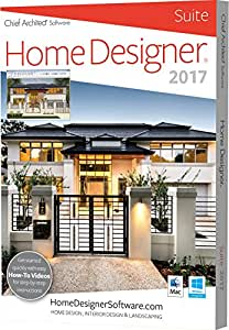 chief architect home designer suite 2017 pc mac software