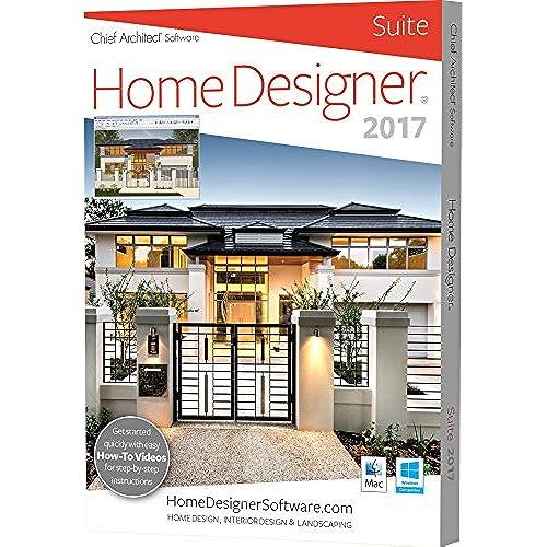 professional home design suite platinum. Chief Architect Home Designer Suite 2017 Landscape Design Software  Amazon com
