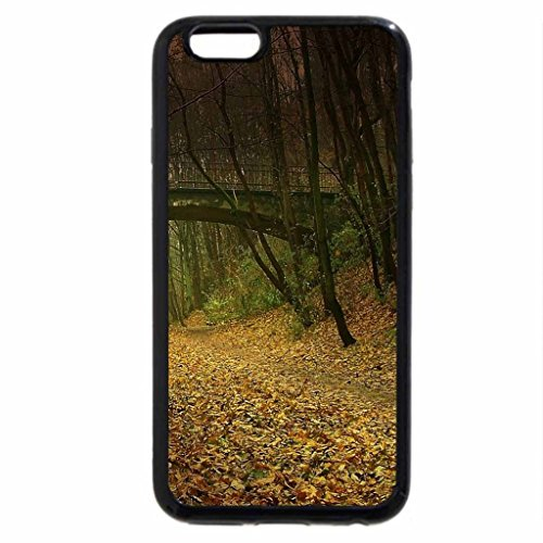 iPhone 6S / iPhone 6 Case (Black) bridge over a gultch deep in the forest