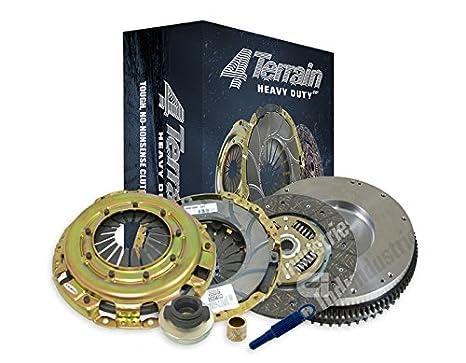 4Terrain Heavy Duty Premium Clutch Kit | ER2 Heavy Duty Cover Assembly | Heavy Duty Clutch