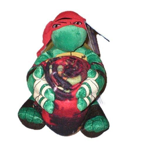 Teenage Mutant Ninja Turtles Raphael Throw Blanket and Pillow Set (40