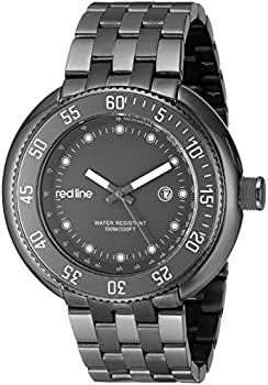 Red line Driver Japanese Men's Quartz Watch
