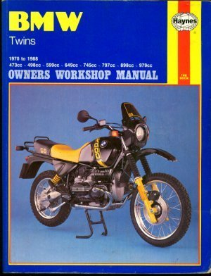 BMW Twins 1970-88 Owner's Workshop Manual