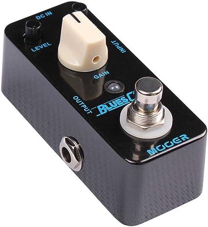 Mooer Blues Crab – Blues Drive Pedal para guitarra eléctrica ...