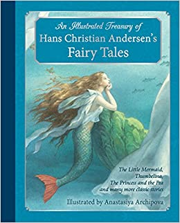 hc andersen fairy tales list