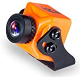 """FXT T71 mini FPV Camera 1000TVL 1/3"""" CMOS With NTFS/PAL OSD WDR for RC Drone Quadcopter (Orange)"""