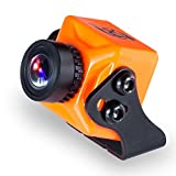 "FXT T71 Mini FPV Camera 1000TVL 1/3"" CMOS with NTFS/PAL OSD WDR for RC Drone Quadcopter (Orange)"